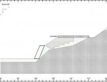 Exemple de calcul de la stabilité général d'un site avec le logiciel TALREN ; Montée Bonafous, Zone des Balmes, Lyon, Rhône (69).