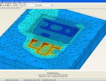 Exemple de calculs de tassements d'un radier sur sous-sol et de semelles superficielles en RDC ; BARBY, Savoie (73)