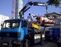 Atelier de forage Comacchio GEO 305